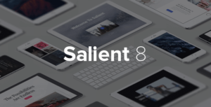 Salient Multiporpose WordPress Theme