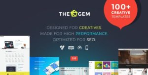 The Gem Multiporpose Wordpress Theme